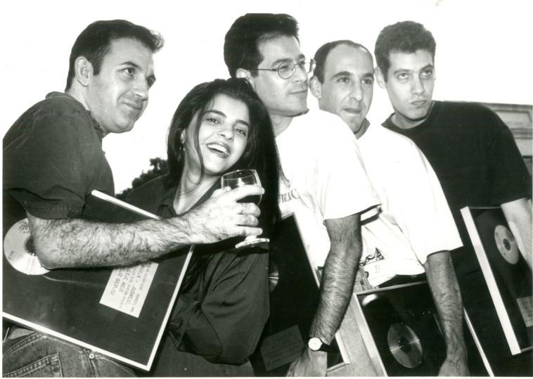 זהבה בן, להקת אתניקס, 1991. הליקון