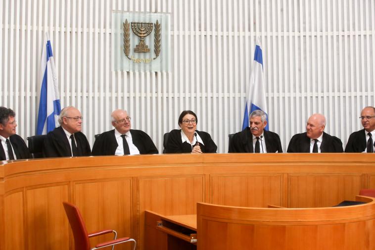 שופטי בית המשפט העליון. צילום: מרק ישראל סלם