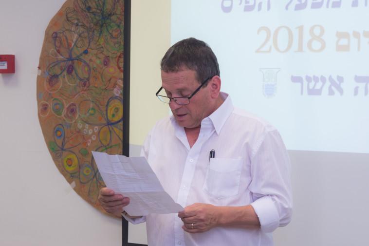ראש המועצה האזורית מטה אשר- יורם ישראלי