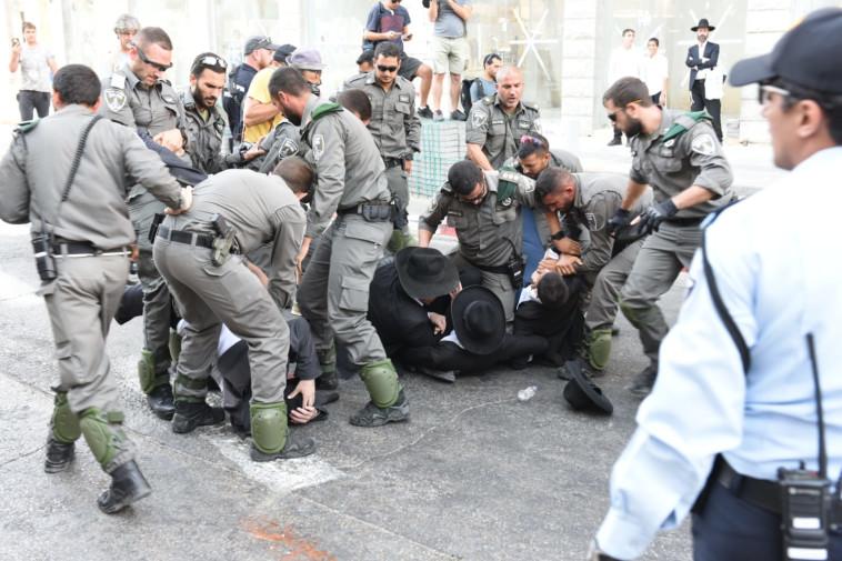 כוחות הביטחון בבני ברק. צילום: קובי ריכטר/TPS