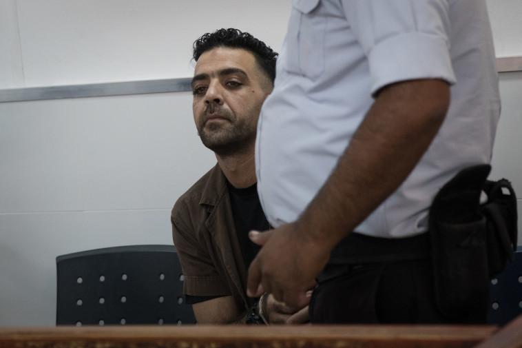 """אסלאם נאג'י, המחבל שרצח את רונן לוברסקי ז""""ל. צילום: הדס פרוש, פלאש 90"""