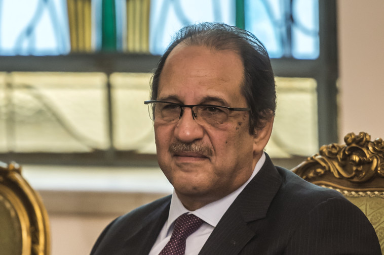 ראש המודיעין המצרי עבאס כאמל. צילום: AFP