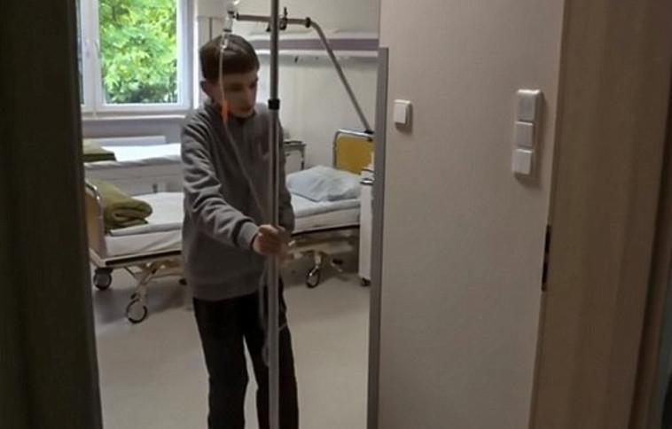 נאלץ לשהות רוב היום בבית החולים לצורך טיפולים. טומאס נדולסקי