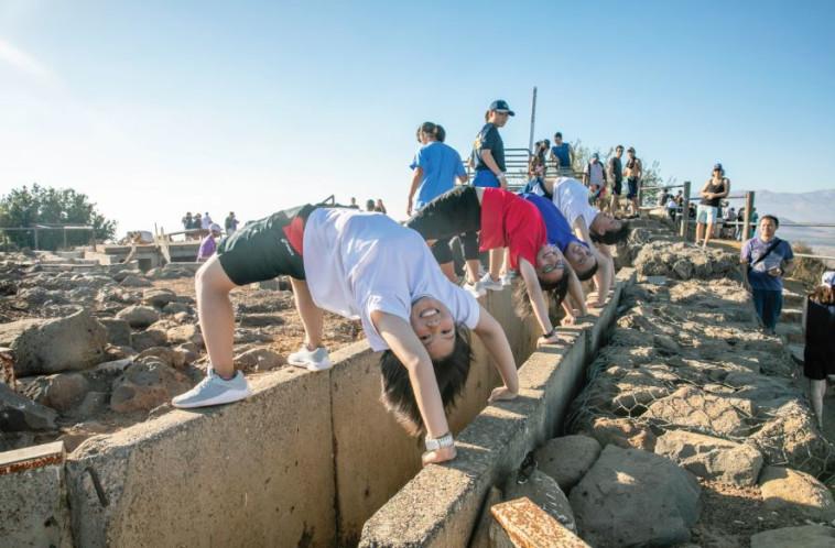 תיירים ברמת הגולן. צילום: יוסי אלוני