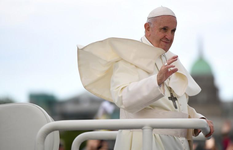 האפיפיור פרנציסקוס. צילום: רויטרס