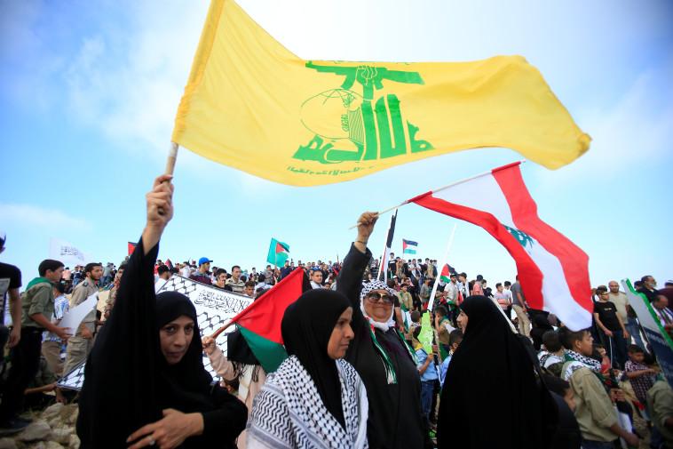 תומכי חיזבאללה (צילום: רויטרס)