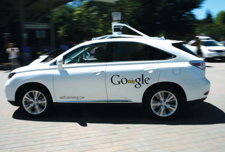 המכונית האוטומטית של גוגל (צילום: רויטרס)
