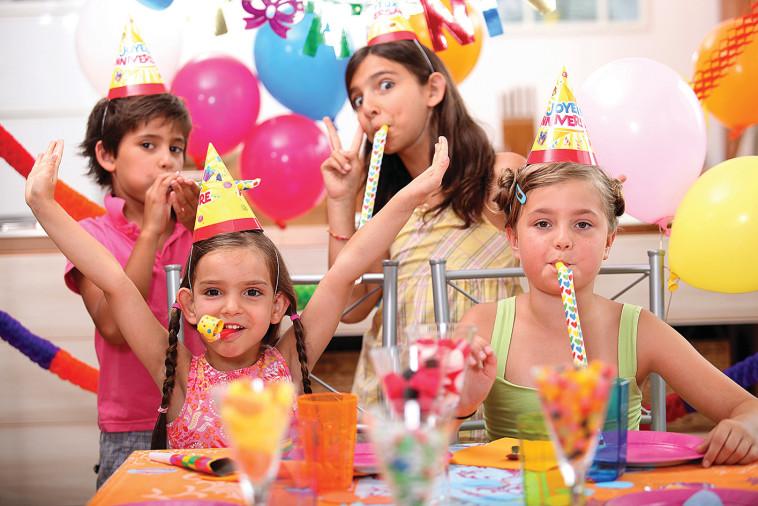 מסיבת ילדים. צילום:אינג' אימג