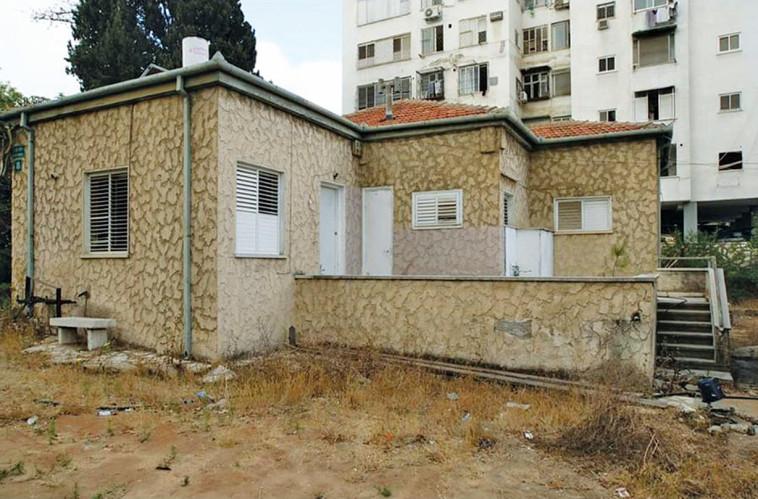 אחד הבתים האחרונים בשכונת בורוכוב. צילום פרטי