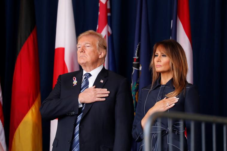 דונלד ומלניה טראמפ. צילום: רויטרס