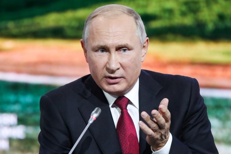 ולדימיר פוטין. צילום: רויטרס
