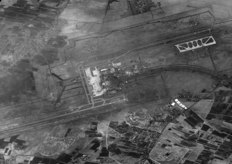 שדה תעופה סורי כפי שצילם אופק 1