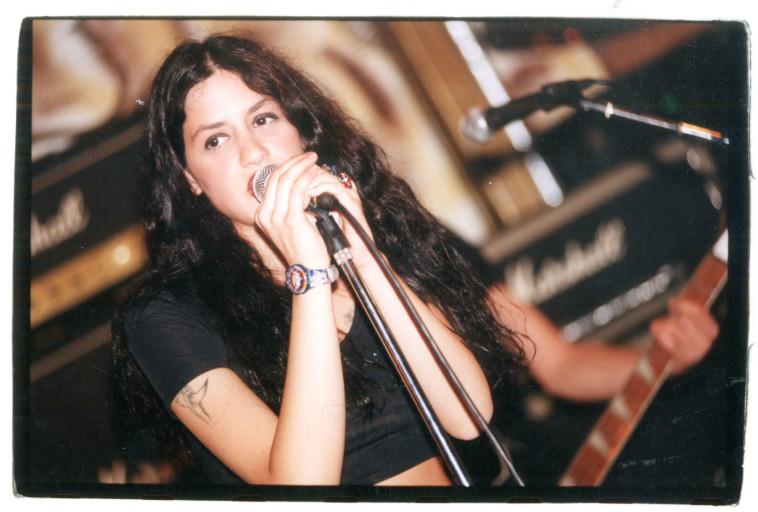 איגי וקסמן 1995. צלם: נעם וינד