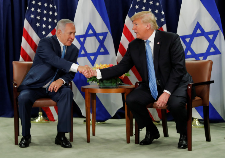 פגישת נתניהו-טראמפ. צילום: רויטרס