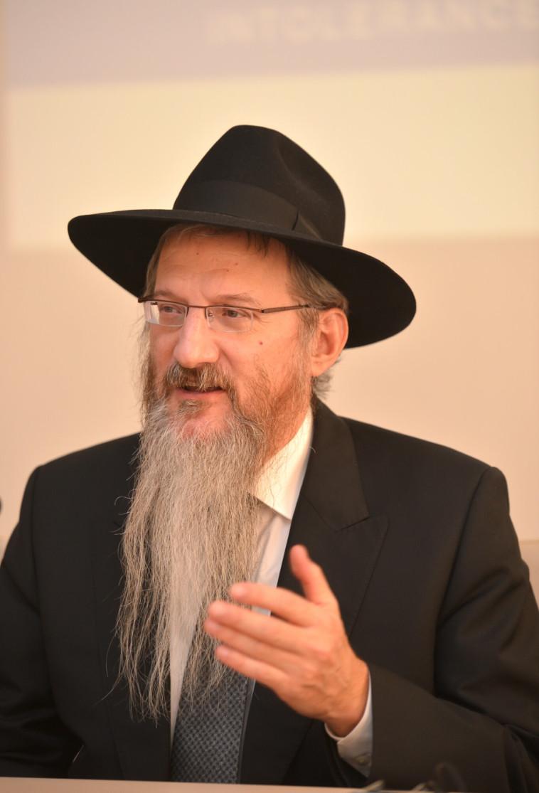 הרב ברל לאזר. צילום: יוסי זליגר