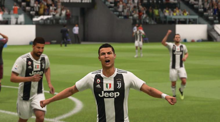 """מגיע גם לליגת האלופות. רונאלדו בפיפ""""א 19"""