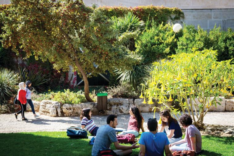 מערכת ההשכלה הגבוהה במשבר עולמי. סטודנטים בישראל. צילום: מרים אלסטר, פלאש 90