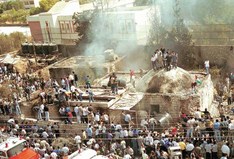 קבר יוסף. צילום: פלאש 90