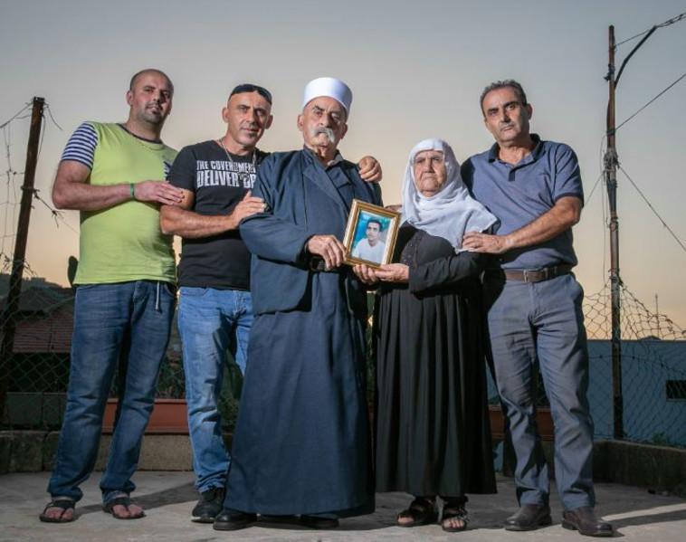 משפחתו של מדחת יוסף. צילום: יוסי אלוני