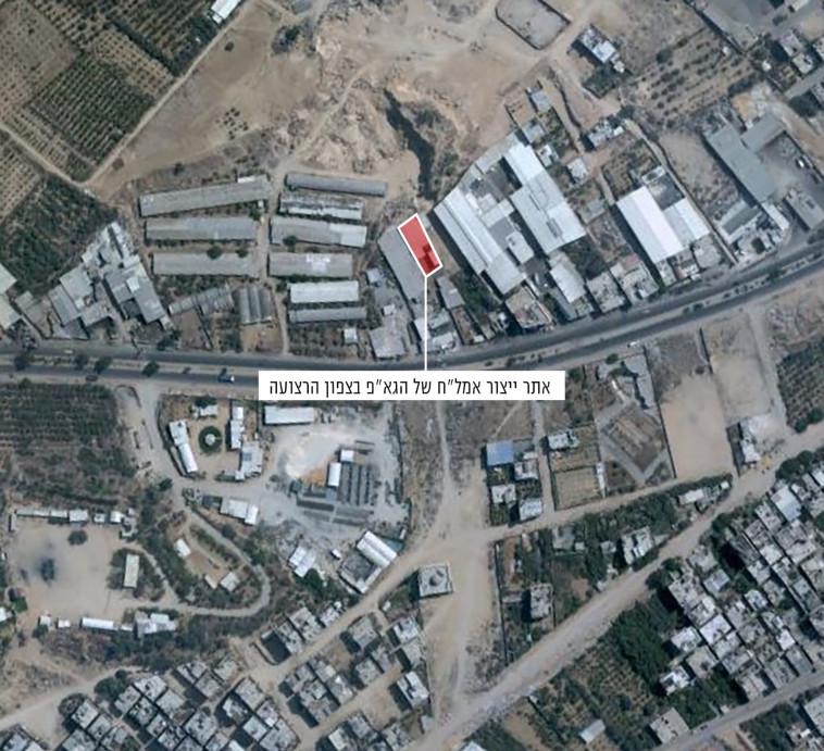 """צה""""ל תקף מטרות של הג'יהאד האסלאמי. צילום: דובר צה""""ל"""
