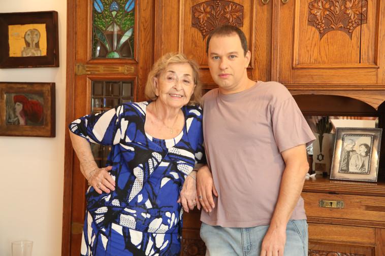 ליא קניג עם רועי הורוביץ. צלם : אלוני מור