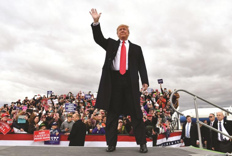 דונלד טראמפ. הקסם פג? (צילום: AFP)