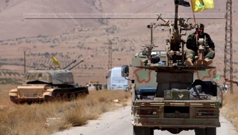 לוחמי חיזבאללה בסוריה (צילום: רויטרס)