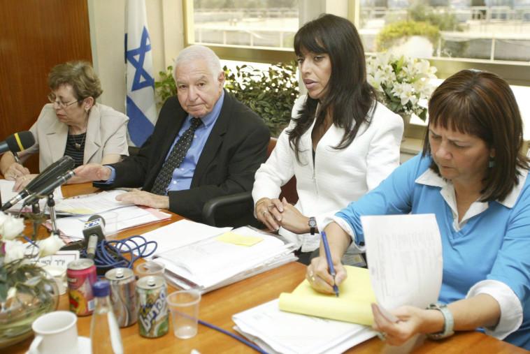 כנסת ועדת ביקורת המדינה אסתרינה טרטמן צילום פלאש 90