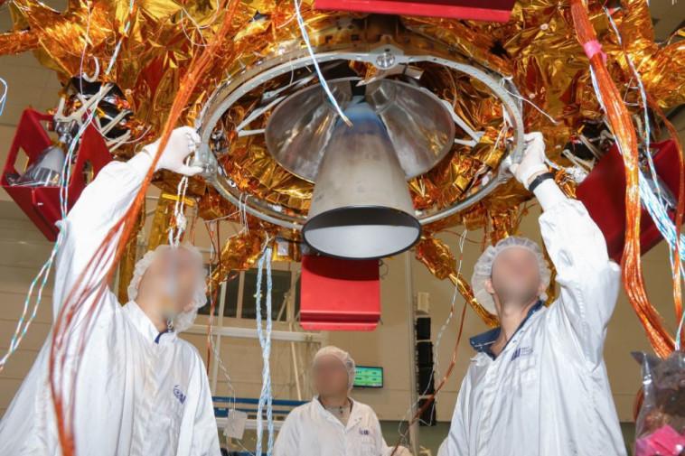הדרך לירח: החללית הישראלית הראשונה תשוגר לחלל השבוע 511355