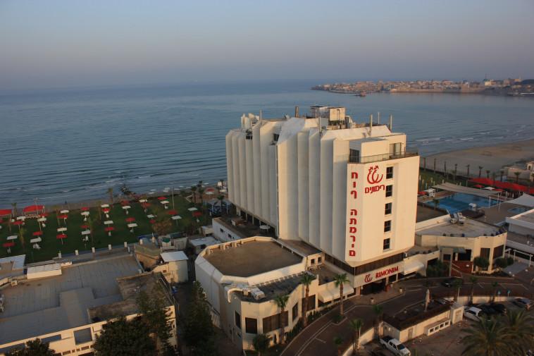 מלון רימונים חוף התמרים בעכו. צילום: רמי סלומון