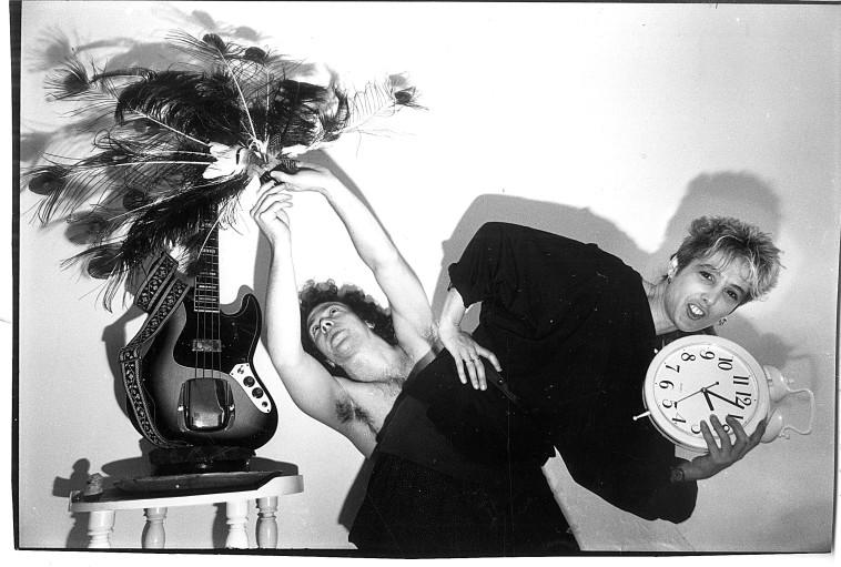 שנת 1990 טובה גרטנר ובעלה צילום יוסי אלוני. צלם : יוסי אלוני