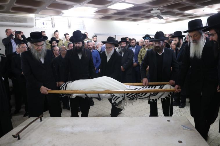 הלווייתו של יוסף כהן. צילום: יונתן זינדל, פלאש 90