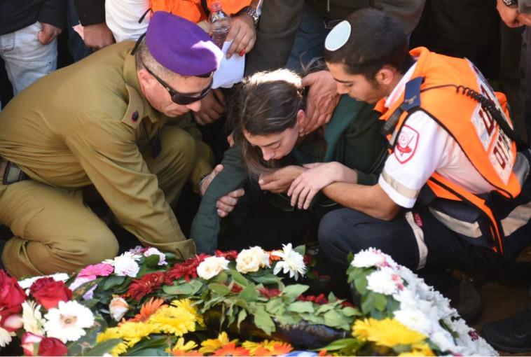 הלווייתו של יובל מור יוסף. צילום: קובי ריכטר,TPS
