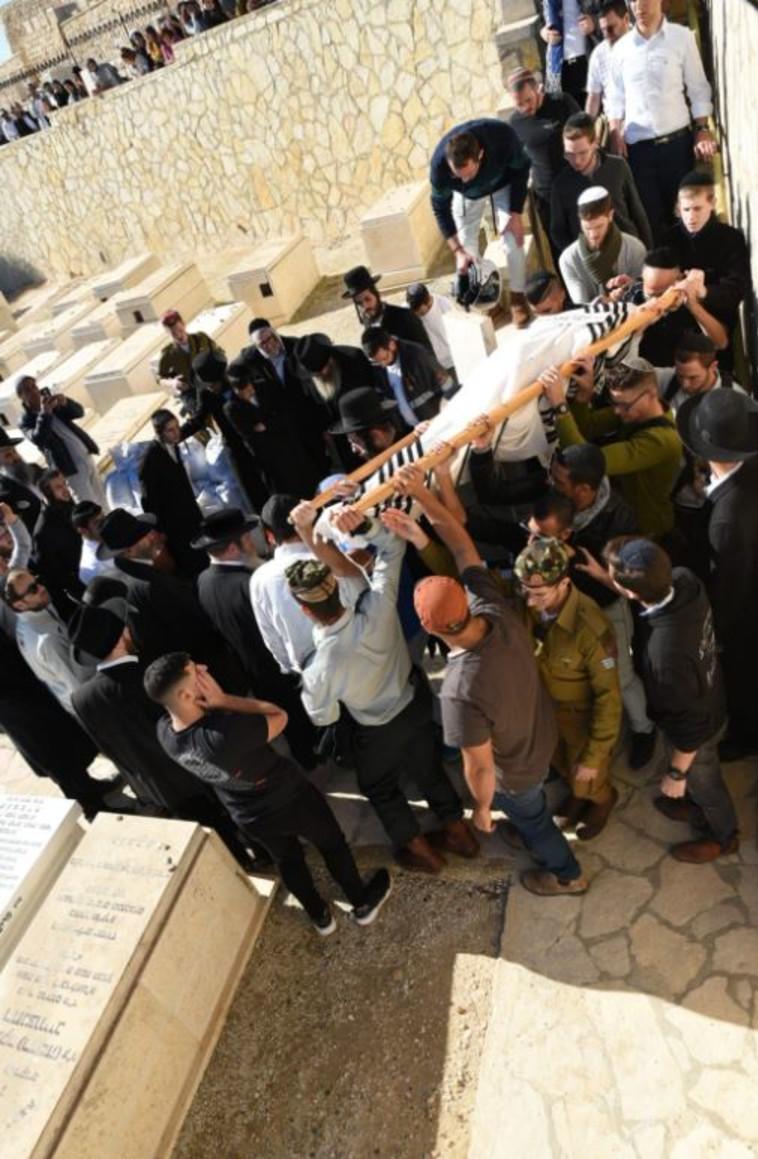 הלווייתו של יוסף כהן. צילום: רן דהן, TPS