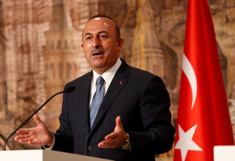 שר החוץ הטורקי. צילום: רויטרס
