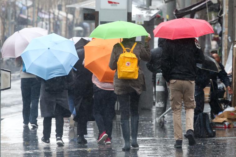 גשמים ברחבי הארץ (צילום: מרק ישראל סלם)
