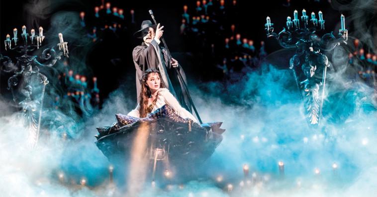 למעלה מ-20 אלף כרטיסים בתוך חודש וחצי. פנטום האופרה. צילום: THE REALLYUSEFULL GROUP