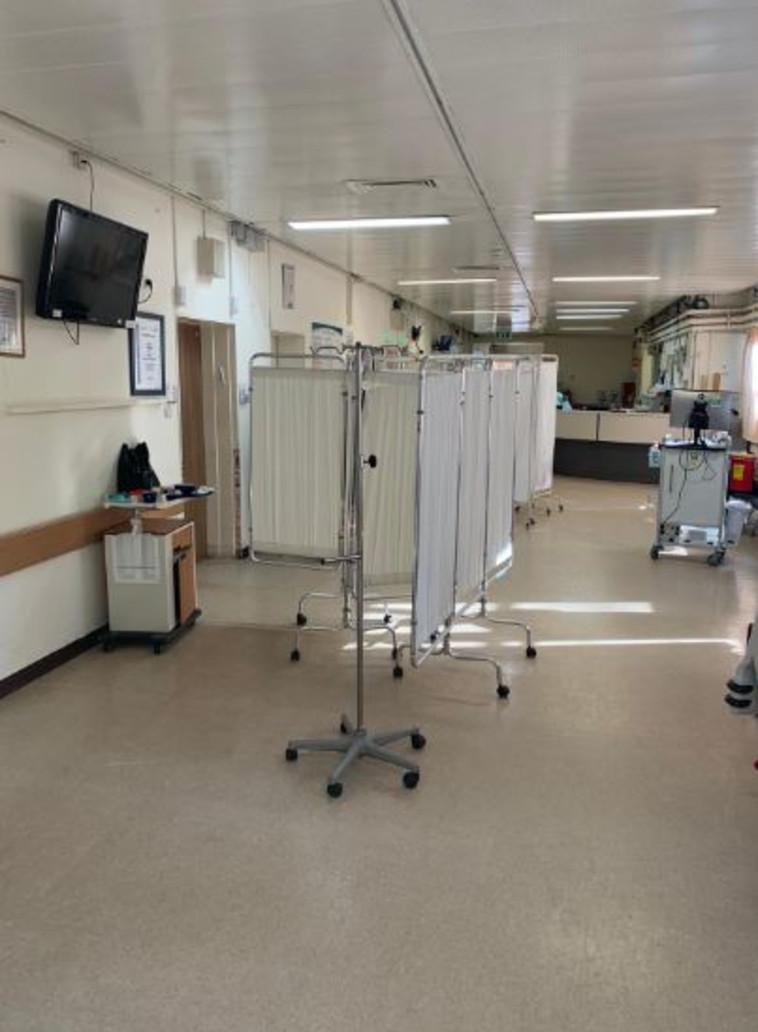 מחלקה פנימית בבית חולים בארץ. צילום : ללא קרדיט