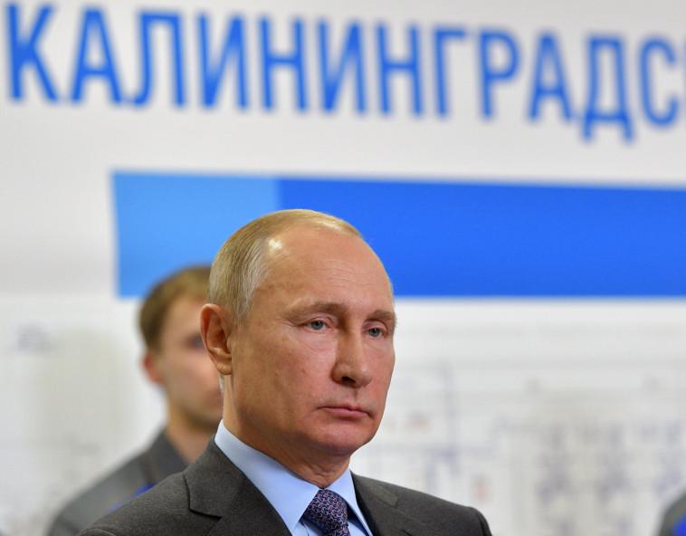 """פוטין. לרוסיה יש וטו במועצת הביטחון והאו""""ם יכול לקפוץ לה. צילום: רויטרס"""