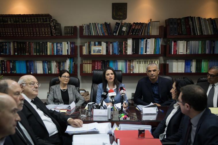 הוועדה לבחירת שופטים (ארכיון) (צילום: הדס פרוש, פלאש 90)