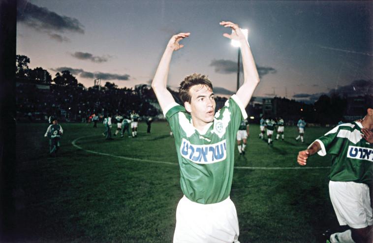 1995 אייל ברקוביץ מכבי חיפה. צלם : רוני שיצר