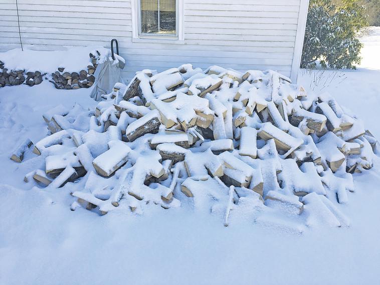 הסופה פסחה על מיין, אך עדיין קר כאן יותר מכפי שהיה בעבר. צלם : רון מיברג