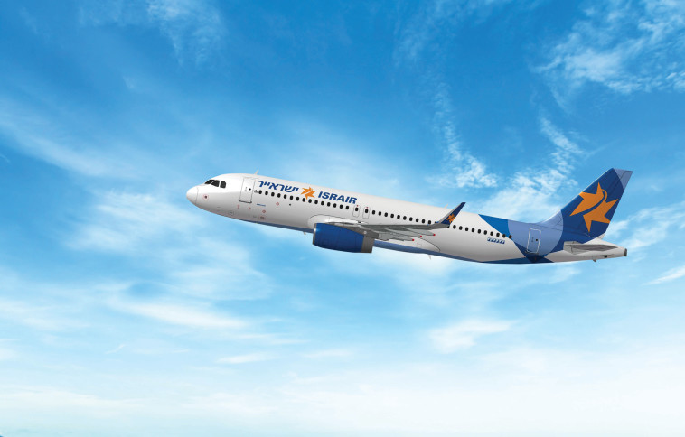 מטוס ישראייר חדש  (צילום: מוני שפיר)