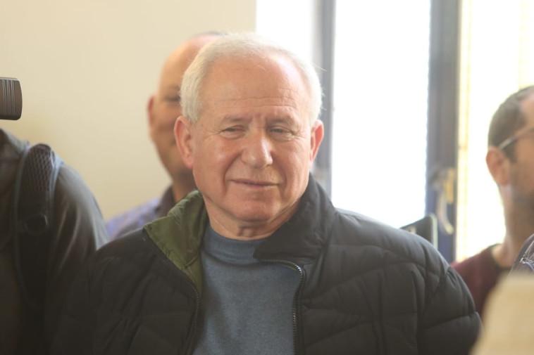 """חה""""כ אבי דיכטר בהלוויית הרב יחיאל אקשטיין. צילום: מרק ישראל סלם"""