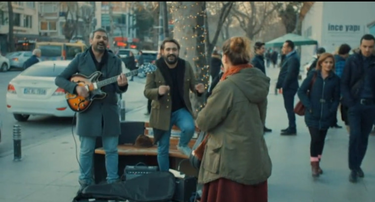 """""""הכלה מאיסטנבול"""". צילום מסך"""