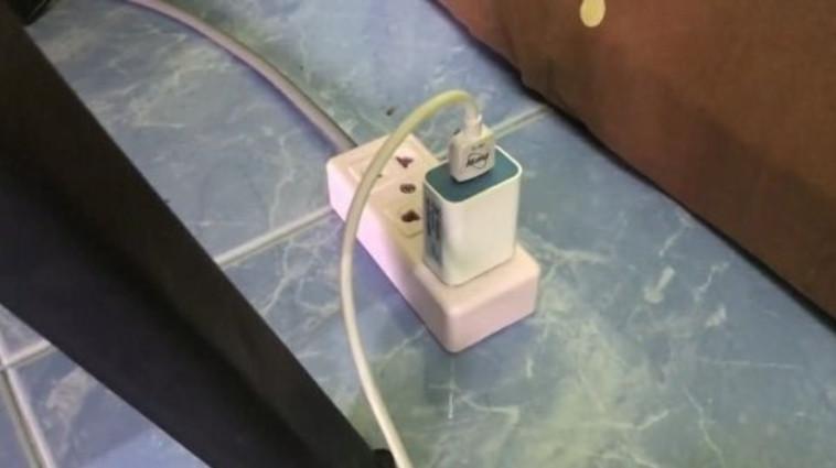 התחשמל למוות כשהטעין את הסמארטפון (צילום: צילום מסך)