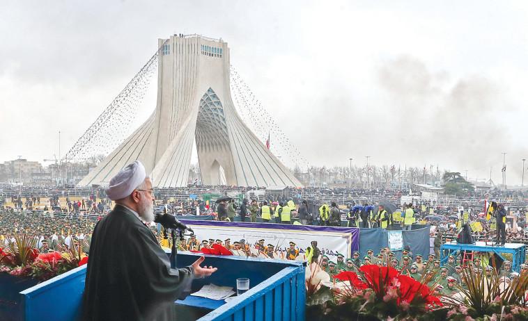 רוחאני. הפרויקט החדש של האיראנים מעורר דאגה. צילום: AFP