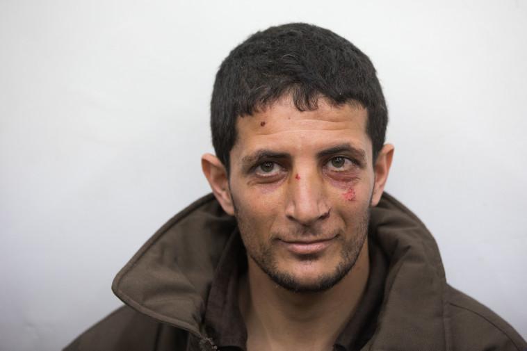 המחבל שרצח את אורי אנסבכר. צילום: יונתן זינדל, פלאש 90