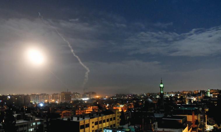 תקיפה ישראלית בסוריה. איראן תמשיך להוות אתגר. צילום: רויטרס