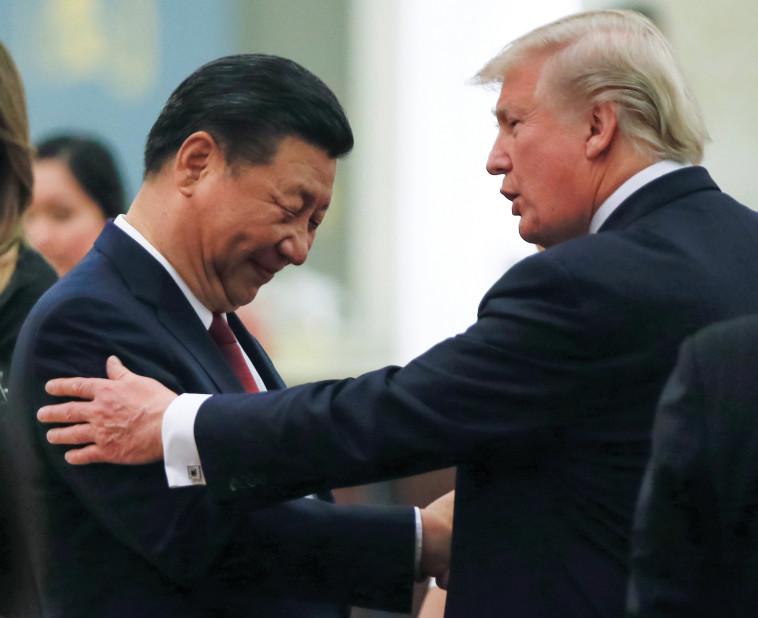 טראמפ ושי ג'ינפינג. צילום: רויטרס